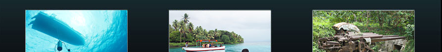Chuuk Land Tours and Excursions... Explore Chuuk Topside and Underwater.